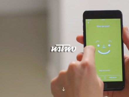 Screenshot of the ustwo website
